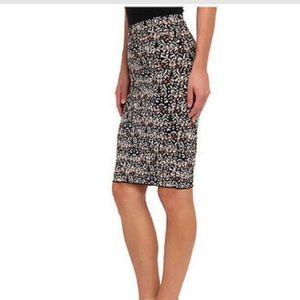 BCBG printed bandage skirt